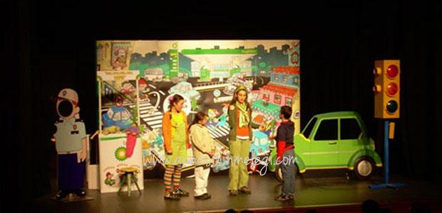 """Ücretsiz Etkinlik: BP Yol Güvenliği Çocuk Tiyatrosu'ndan """"Konuşan Trafik"""""""