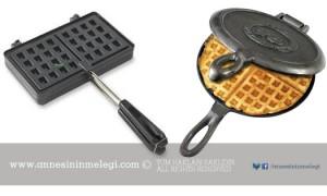 Waffle tarifi waffle makinesinde
