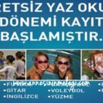 Beşiktaş Belediyesi Ücretsiz Yaz Okulu 2012 için ön kayıtlar 8 Haziran 2012 Cuma günü başlıyor.