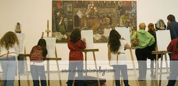 İstanbul Modern Sanat Müzesi Eylül 2012 Ücretsiz Çocuk Etkinlikleri Programı