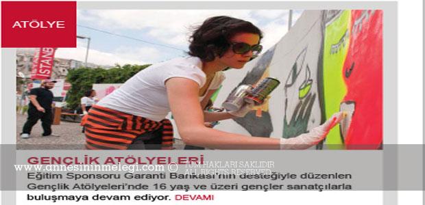 İstanbul Modern Gençlik Atölyeleri Programı