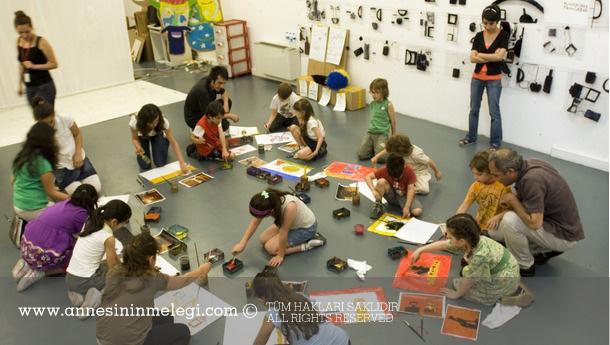 İstanbul Modern Sanat Müzesi Ücretsiz Çocuk Etkinlikleri Sanat Atölyeleri