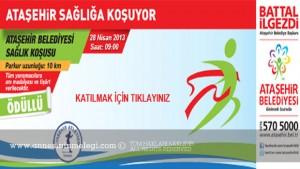 Ataşehir Belediyesi Sağlık Koşusu 10 Km