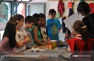Sabanci Müzesi minik seyyahlar ücretsiz çocuk atölyesi