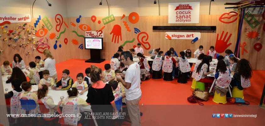 Ülker Çocuk Sanat Atölyesi, 7-10 Kasım 2013 Tarihleri Arasında Contemporary İstanbul'da
