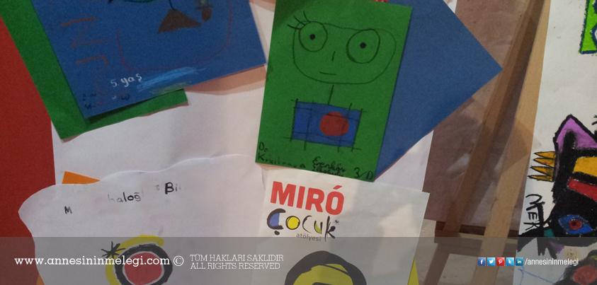 """""""Çocuklar İçin Mıró"""" Çocuk Sanat Atölyesi"""