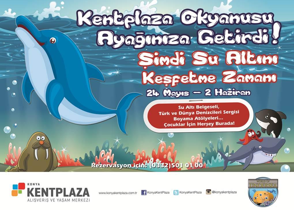 Kentplaza, Okyanusların Büyülü Dünyasını Konya'ya Getiriyor!