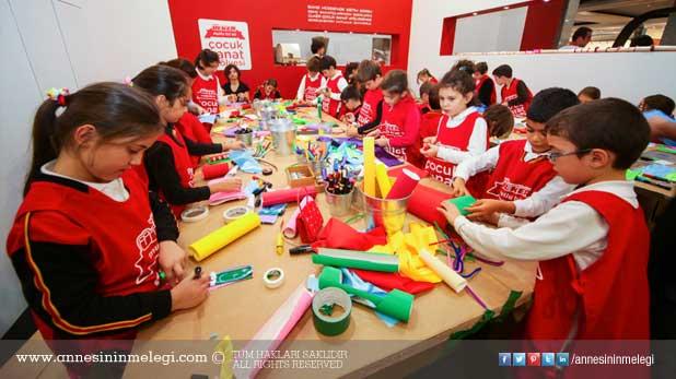 Ülker Çocuk Sanat Atölyesi, Art International'da da çocukları sanat ile buluşturacak