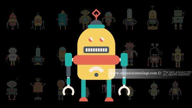 Çocuklar için robot atölyesi