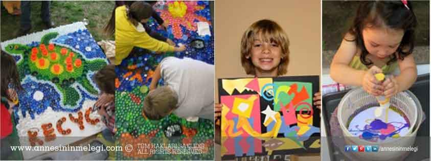 İstinyePark 'Güzel Sanatlar Parkı'yla  Her Çocuk Bir Sanatçı!
