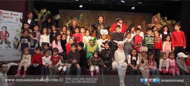 Bosch Çevre Çocuk Tiyatrosu çocuklarla buluşuyor