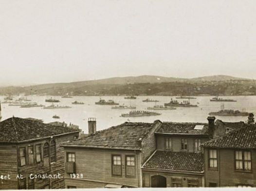#İstanbul Boğazı'nda işgal kuvvetlerine ait gemiler, 1923