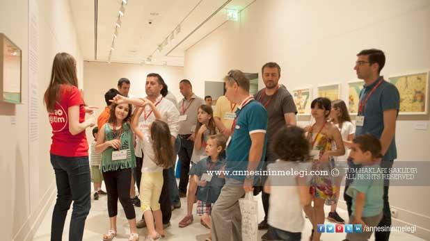 Babalar ve çocukları Pera Müzesi'nde sanatla buluşuyor 2015