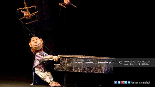 Kukla ustalarının şovu Forum İstanbul ve Marmara Forum'da