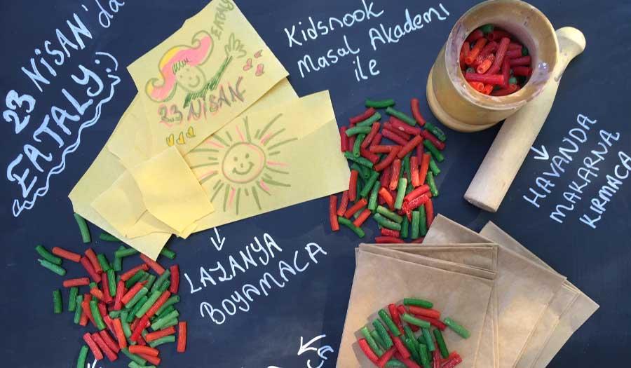 23 Nisan Kutlamaları Eataly'de Bambaşka Lezzet düşkünlerinin yaşam alanı Eataly İstanbul, 23 Nisan Ulusal Egemenlik ve Çocuk Bayramı'nı, çocuklar için hazırlanan yaratıcı ve farklı sürprizlerle karşılamaya hazırlanıyor.