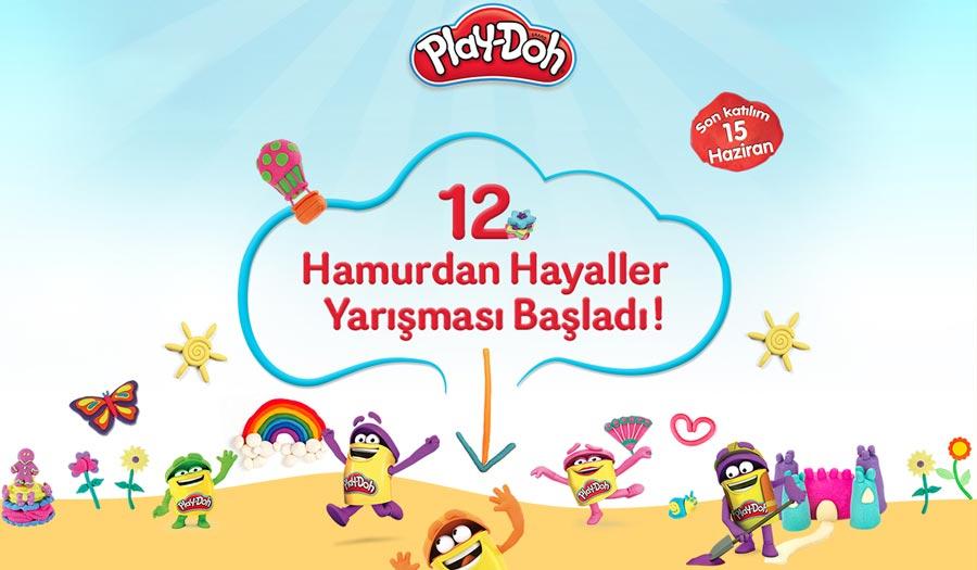 Play-Doh 12. Hamurdan Hayaller Yarışması Başladı! 12. Hamurdan Hayaller Yarışması,çocuk yarışmaları,playdoh,oyun hamuru yarışması,ödüllü çocuk yarışması, hasbro