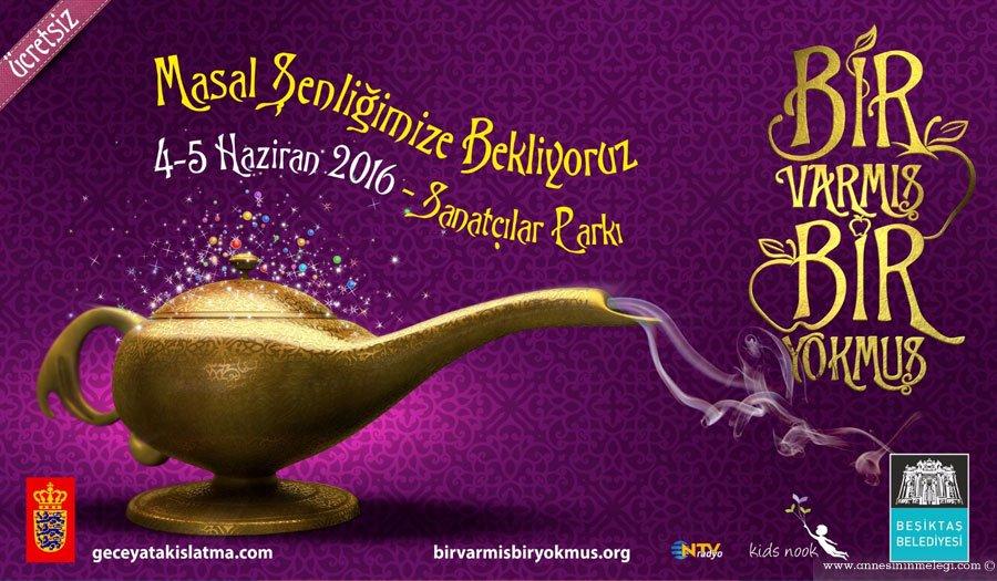 """4-5 Haziran 2016 tarihlerinde Akatlar Sanatçılar Parkında Türkiye'nin ilk masal şenliği olan """"Bir Varmış Bir Yokmuş"""" etkinliğini gerçekleştirilecek. masal şenliği,kids nook,beşiktaş belediyesi,Bir Varmış Bir Yokmuş,Akatlar Sanatçılar Parkı,kidsnook masal akademi,Katılım ücretsiz, ücretsiz çocuk etkinliği,çocuk etkinlikleri,açık hava etkinlikleri,haftasonu çocuk etkinlikleri,masal okuma,masal atölyesi"""
