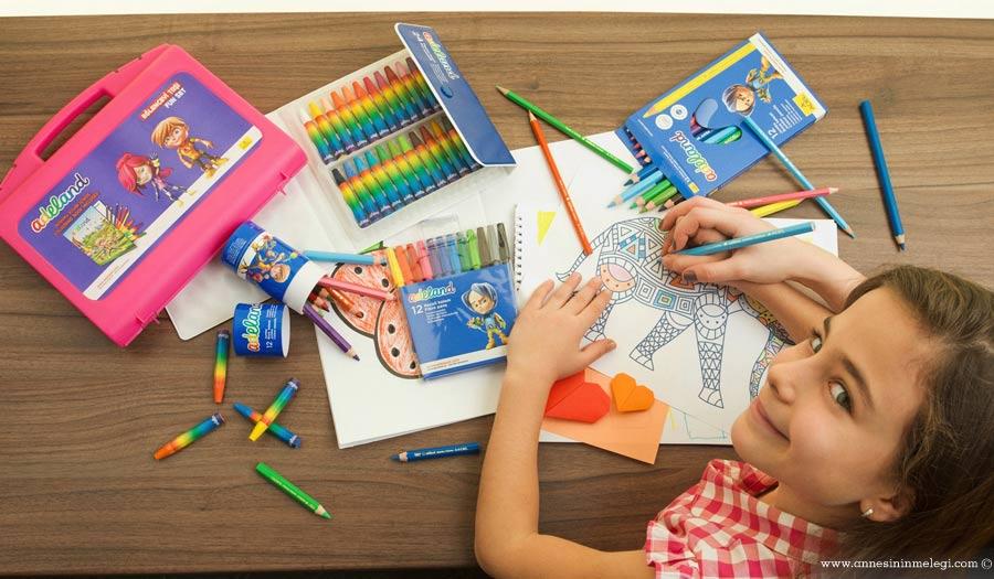 """Adeland Resim Yarışması """"En Renkli Macera"""" başladı. Adeland ,En Renkli Macera,Adeland Resim Yarışması, 'En Renkli Macera' , ulusal ve uluslararası yarışma,çocuk yarışmaları,yarışmalar,kuru boya, sulu boya, pastel boya, keçeli kalem"""