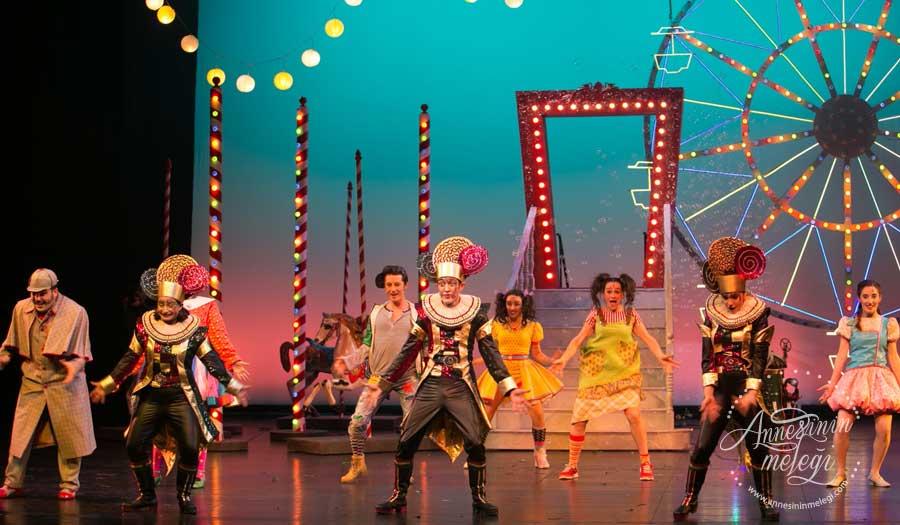 Lunapark Gezegeni 4-5-11-12 Mart'ta Zorlu Performans Sanatları Merkezi'nde çocuklarla buluşuyor