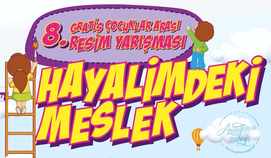 Türkiye'nin Küçük Ressamları Hayallerindeki Mesleği Boyalarla Anlatacak