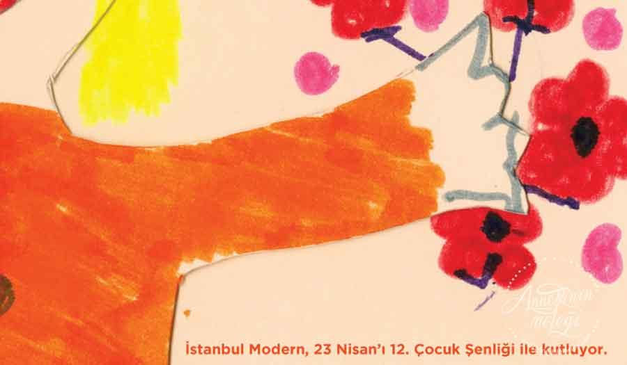 """İstanbul Modern 23 Nisan'a özel çocuklarımızı, sanatla buluşmaya ve müze deneyimlerinden yola çıkarak """"sanatı kucaklayan çocuğun"""" öyküsünü tasarlamaya davet ediyor. 23 Nisan Çocuk Şenliği,İstanbul Modern ,4-12 yaş çocuk,Etkinlik, müze gezisi,ücretsiz etkinlik,çocuk etkinliği,haftasonu etkinliği,23 nisan etkinliği,23 Nisan, 23 nisan çocuk etkinlikleri, 23 nisan etkinlikleri, 23 nisan gösterileri, 23 nisan kutlama etkinlikleri, 23 nisan kutlamaları, 23 nisan neşe doluyor insan, 23 nisan ücretsiz etkinlik, 23 Nisan Ulusal Egemenlik ve Çocuk Bayramı, aile için ücretsiz etkinlik, anadolu yakası 23 nisan etkinlikleri, anne çocuk etkinlikleri, anne etkinlikleri, Anneler ve Babalar için Ücretsiz Etkinlik, Annesinin Meleği, çocuk etkinlik, çocuk etkinlikleri, çocuk şenliği, Çocuklar için eğlenceli eğitim programları, çocuklara yönelik etkinlikler, etkinlik çocuk, istanbul çocuk etkinlikleri, tüm çocuklar davetlidir,23 Nisan Ulusal Egemenlik ve Çocuk Bayramı."""