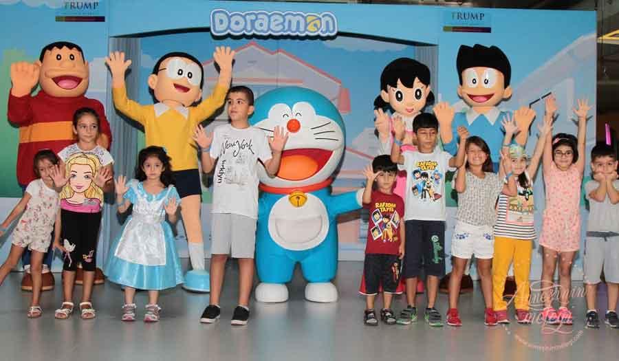 Doraemon ve arkadaşlarının muhteşem gösterisi ile 23-24 Eylül Trump AVM'de!