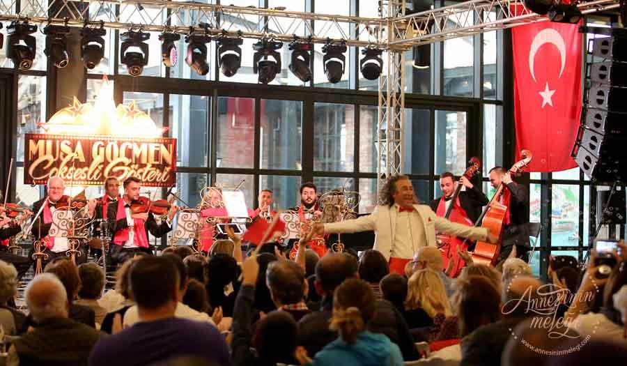 Rahmi M. Koç Müzesi, 29 Ekim Cumhuriyet Bayramı'nda klasik ve senfonik müziği çocuklara eğlenceli sunumuyla sevdiren Şef Musa Göçmen'in 'Çoksesli Gösteri'sine ev sahipliği yapacak.