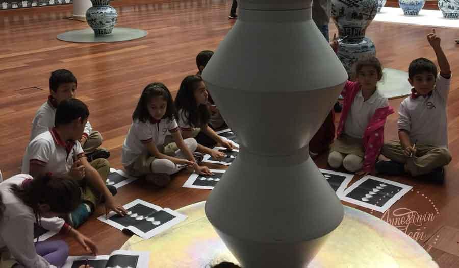 Çocuklar Sakıp Sabancı Müzesi'nde Ai Weiwei'in eserleriyle tanışıyor!