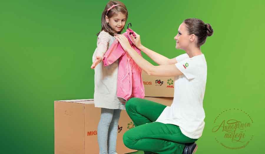 """Migros, Ariel ve Toplum Gönüllüleri Vakfı (TOG), """"Kıyafet Bağış Kampanyası"""" ile bu yıl da ihtiyaç sahibi on binlerce çocuğa kıyafet ulaştıracak. Kıyafet Bağış Kampanyası,Migros, Ariel, Toplum Gönüllüleri Vakfı (TOG) Toplum Gönüllüsü gençler sosyal sorumluluk iyilik"""
