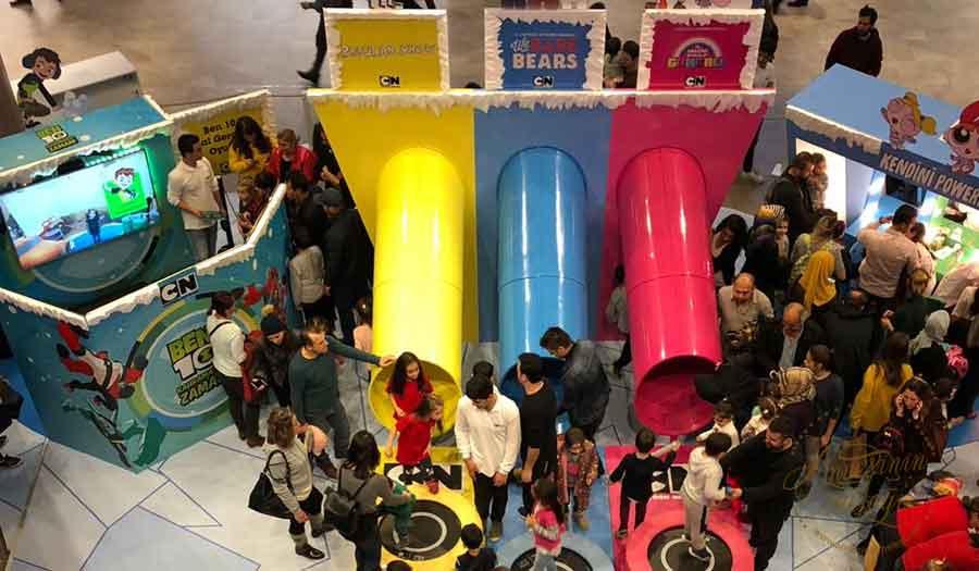 Çocuklar Cartoon Network Kış Festivali'yle Emaar Square'de Eğlenceye Doyacak!