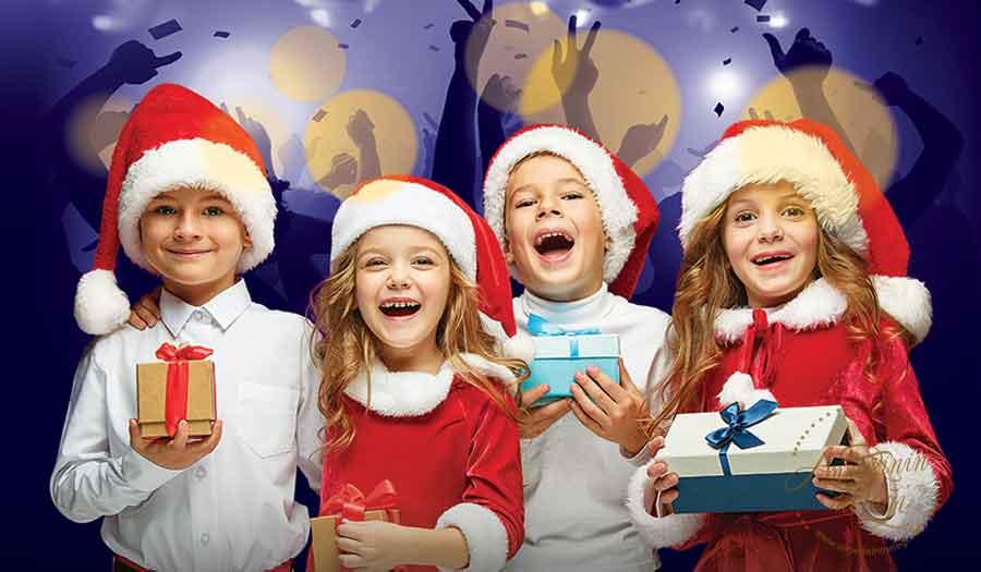 Bu hafta sonu çocuklar Trumpland'de tiyatro izleyecek, Geleneksel Yılbaşı Partisiyle Eğlenecek