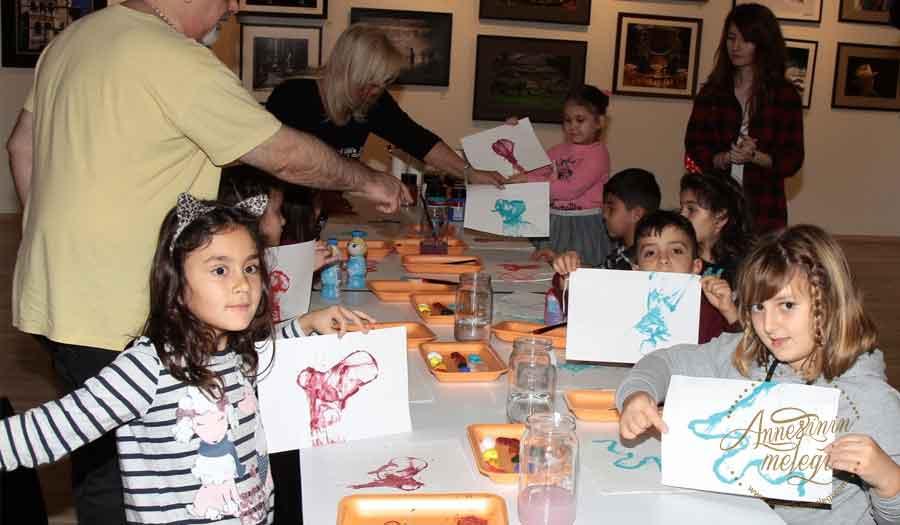 """16 Aralık Cumartesi günü Trump Art Gallery'de çocuklar için """"Resim Atölyesi""""ne davetlisiniz"""