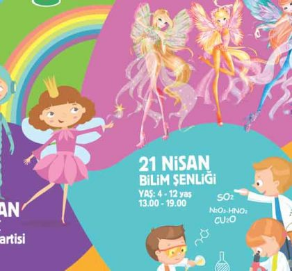 """""""Kidztival Çocuk Festivali"""" 21-23 Nisan Arasinda Mall Of İstanbul'da"""
