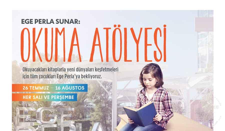 Ege Perla, çocukların yaz tatilini okuma atölyeleri ile renklendiriyor
