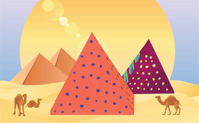 Bu Hafta Sonu çocuklar Mısır Piramitlerini Boyayacak Tiyatro