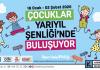 Kadıköy Belediyesi, yarıyıl tatilinde çocuklar için atölyelerden, çocuk oyunlarına, konserlerden, gösterilere bir birbirinden renkli etkinliklerle dolu bir şenlik hazırladı.