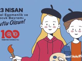 """İstanbul Büyükşehir Belediyesi 23 Nisan etkinleri çerçevesinde """"Hayalimdeki 23 Nisan Resim Yarışması"""" düzenliyor"""
