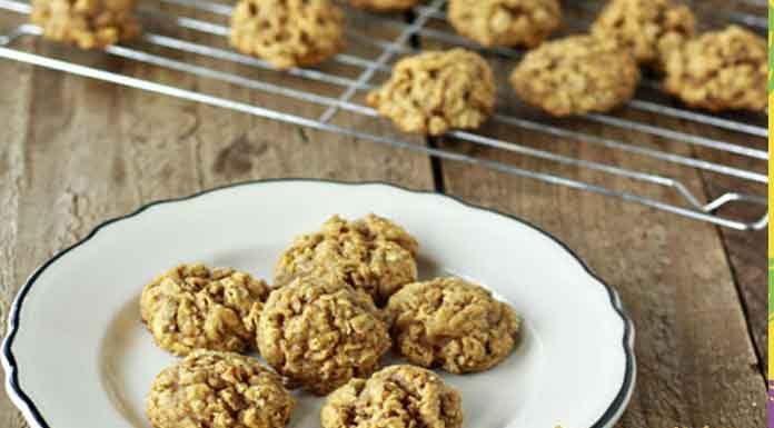 Bal kabaklı ve yulaflı kurabiye tarifi