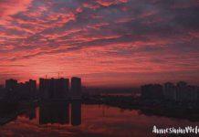 Güneş batarken ve doğarken gökyüzü ve bulutlar neden renk değiştirir?