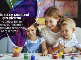 Kelebek Mobilya Çocuk Resim Yarışması 23 Nisan'da Minik Eller Anneleri İçin Çiziyor