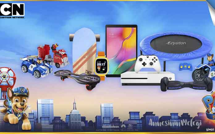 Cartoon Network'ten Paw Patrol hayranlarına ödüllü yarışma